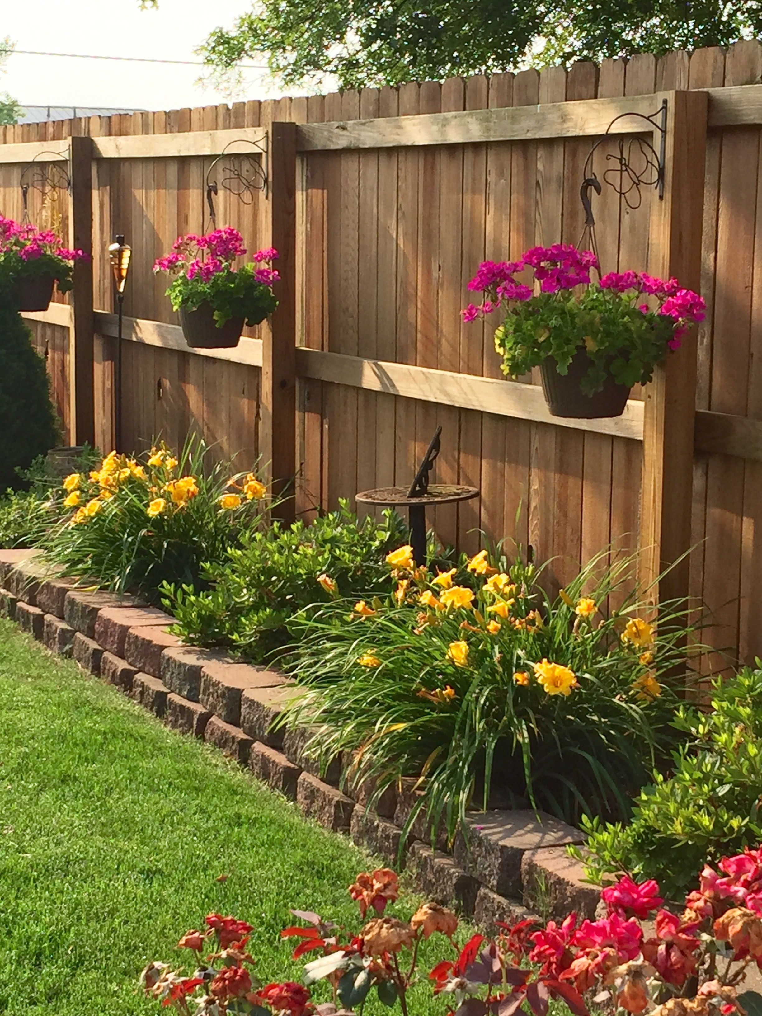 27 The Best Decorating Ideas For Patio Fences In 2019 for sizing 2448 X 3264