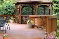 67 Nice Gazebo Backyard Garden Landscaping Design Ideas pertaining to size 768 X 1024