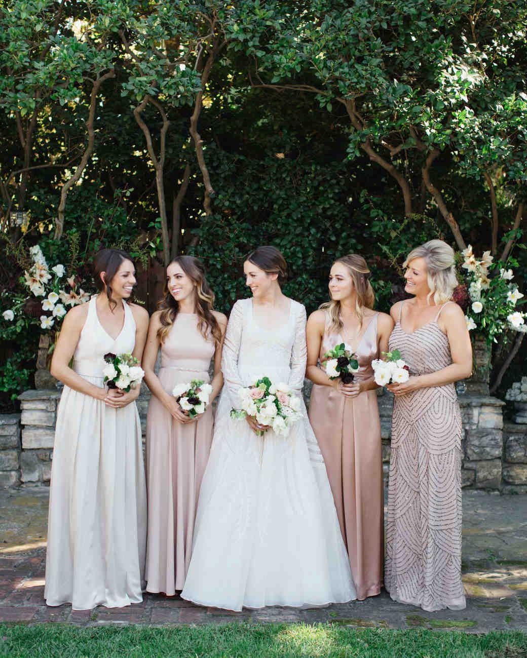 A Backyard Garden Wedding In San Marino Long Sleeve for sizing 1040 X 1299