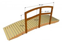 Backyard Bridges Garden Bridge Plans Free Outdoor Plans with measurements 1280 X 731