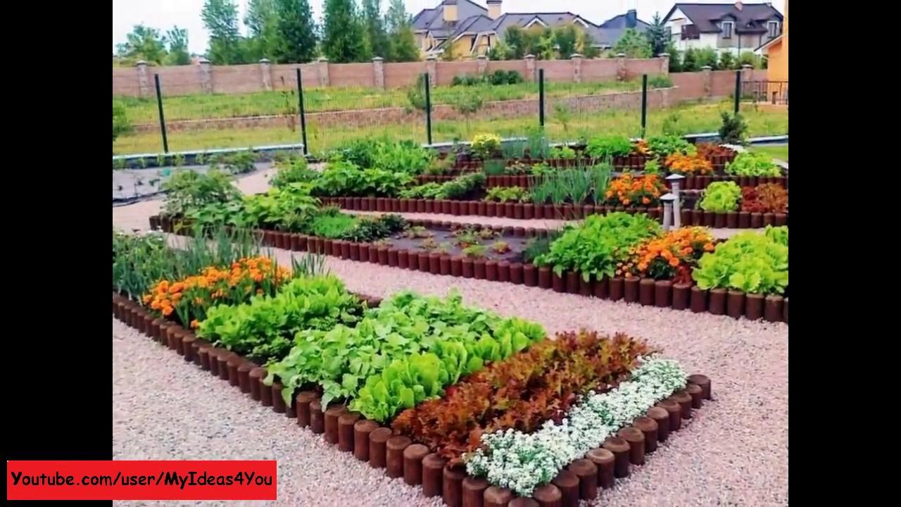 Raised Bed Garden Backyard Vegetable Garden Design Ideas pertaining to measurements 1280 X 720
