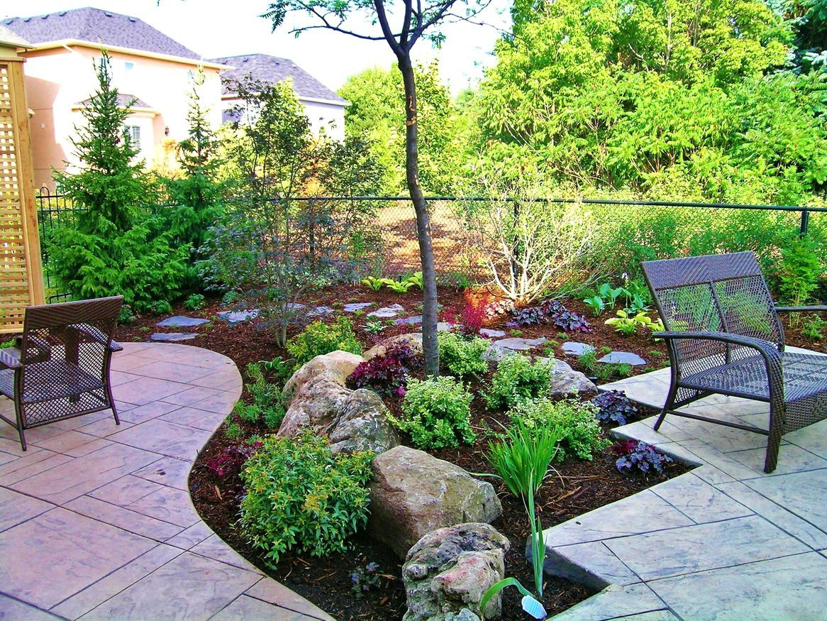Small Backyard Garden Ideas Nz Simple Do It Yourself intended for measurements 1166 X 875