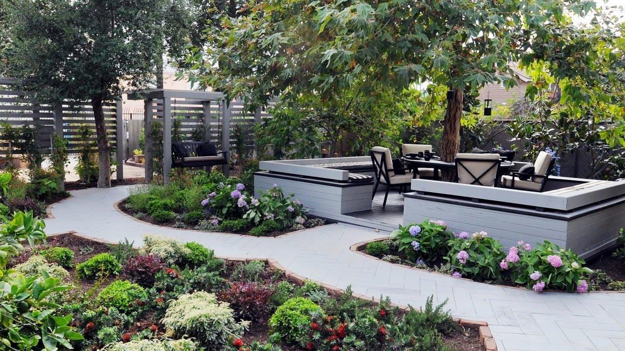 Small Backyard Landscaping Ideas Backyard Garden Ideas with regard to proportions 1280 X 720