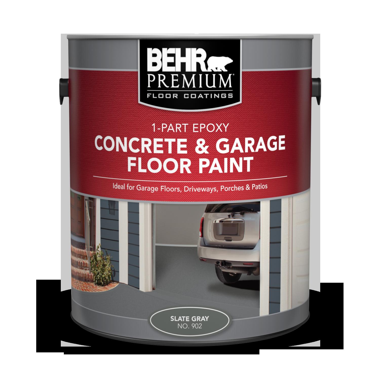 1 Part Epoxy Concrete Garage Floor Paint Behr Premium pertaining to measurements 1500 X 1500