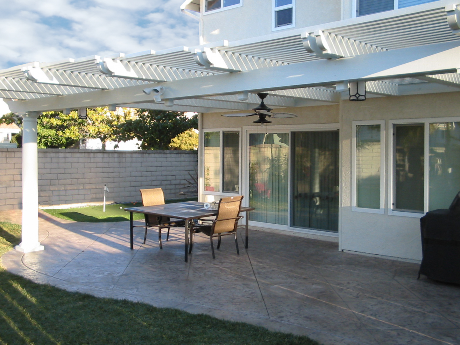 12 X 20 Lattice Patio Cover within sizing 1600 X 1200