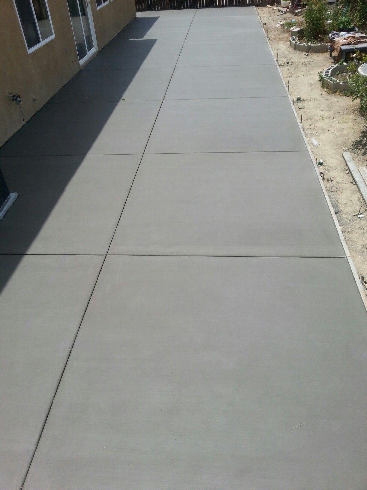 56x16 Broom Finish Patio Slab Concrete Patio Designs pertaining to sizing 1224 X 1632