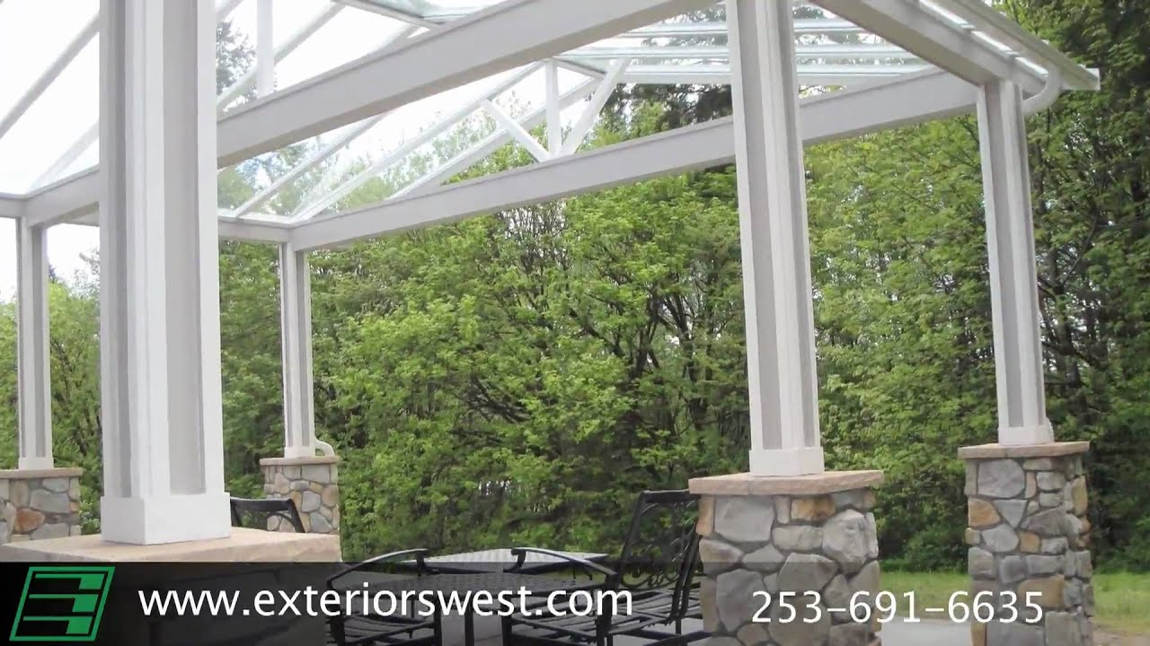 All Lexan Patio Covers Contractor In Tacoma Wa Exteriors West inside dimensions 1280 X 720