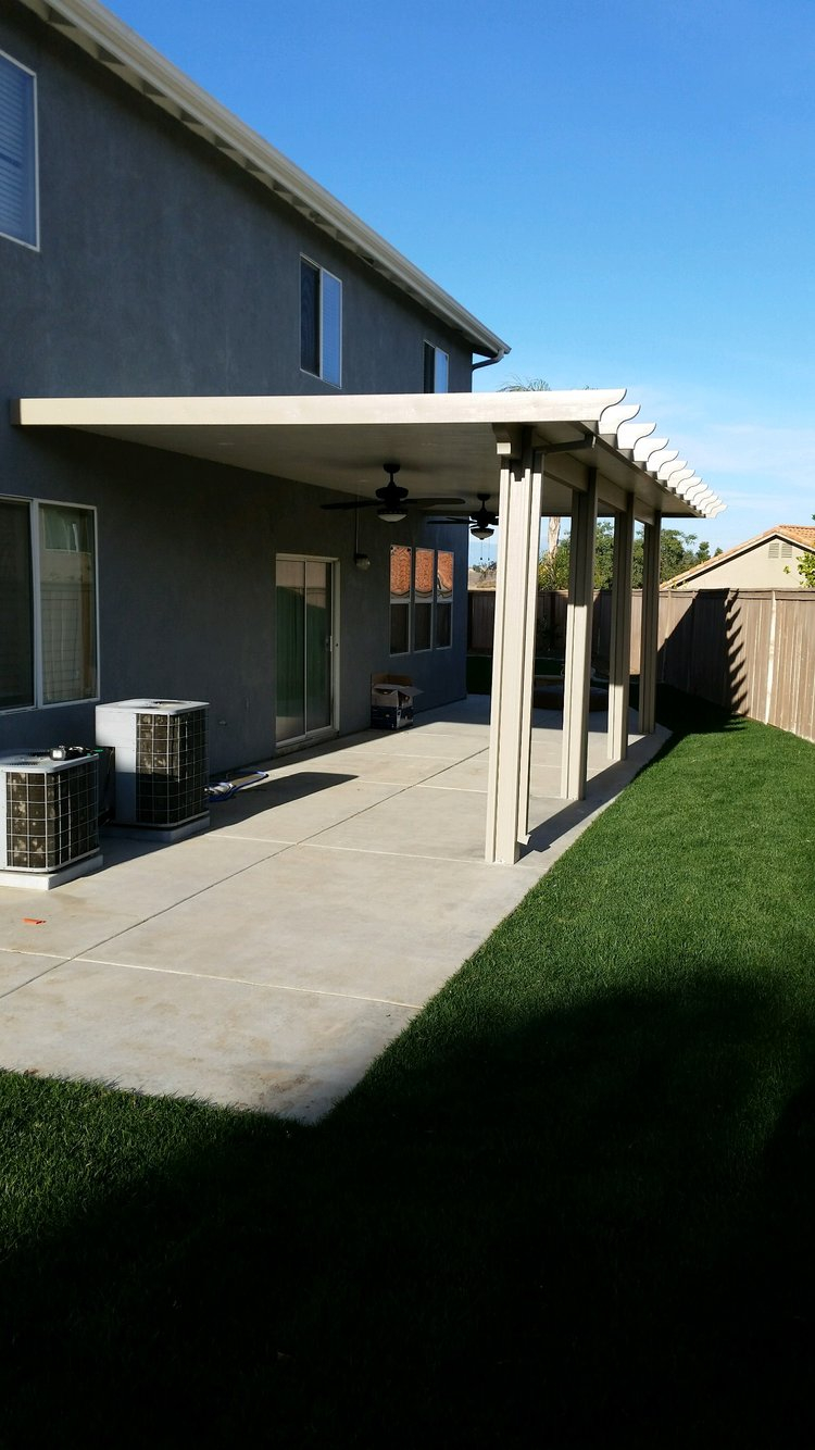 Aluminum Patio Covers Lake Eslinore Superior Patios inside dimensions 750 X 1334