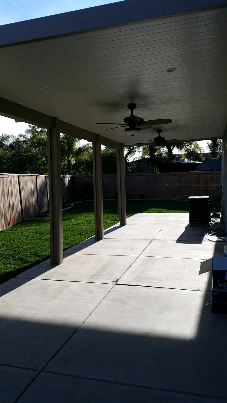 Aluminum Patio Covers Lake Eslinore Superior Patios with measurements 750 X 1333