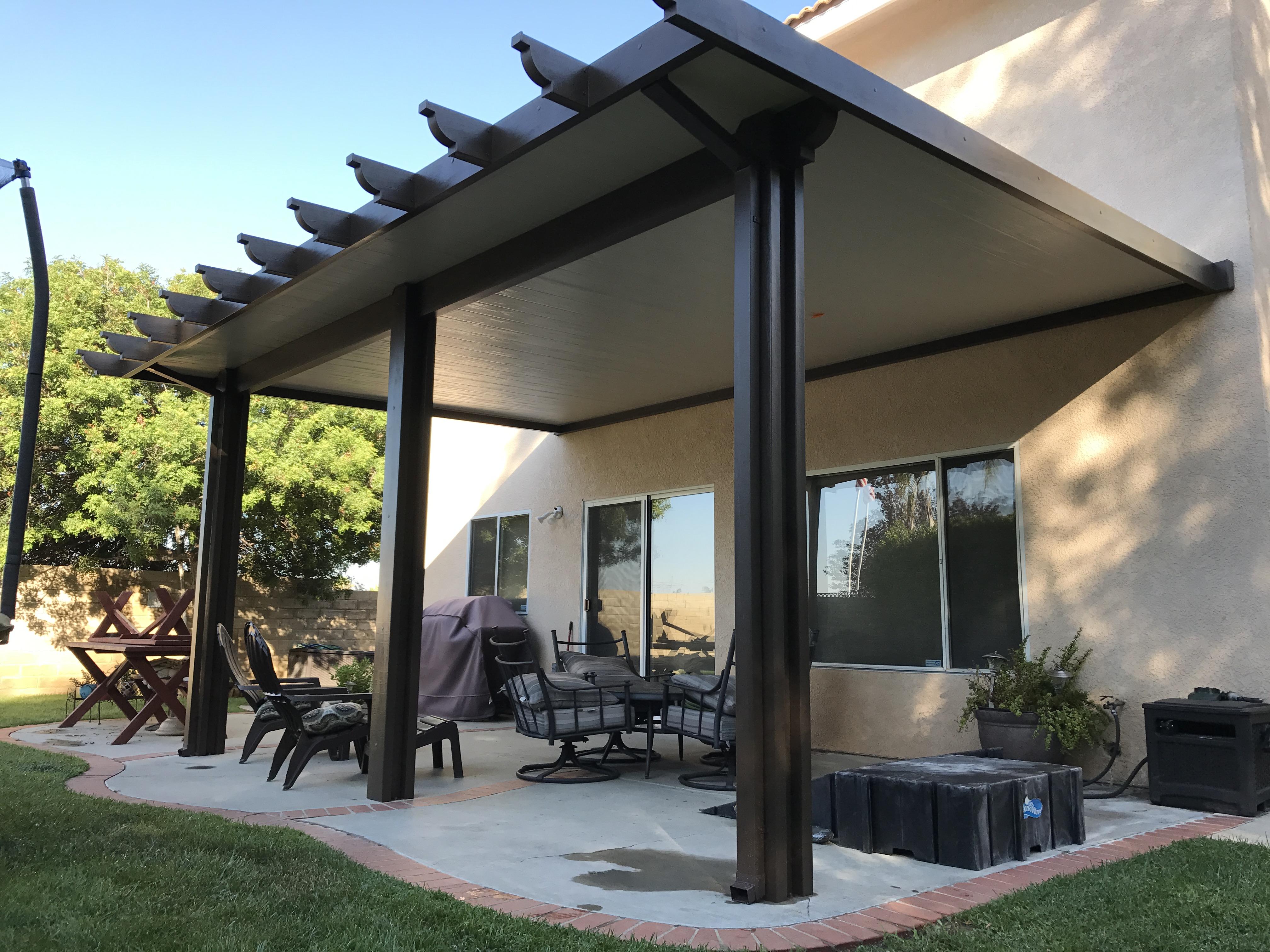 Aluminum Patio Covers Riverside California Alumacovers intended for measurements 4032 X 3024