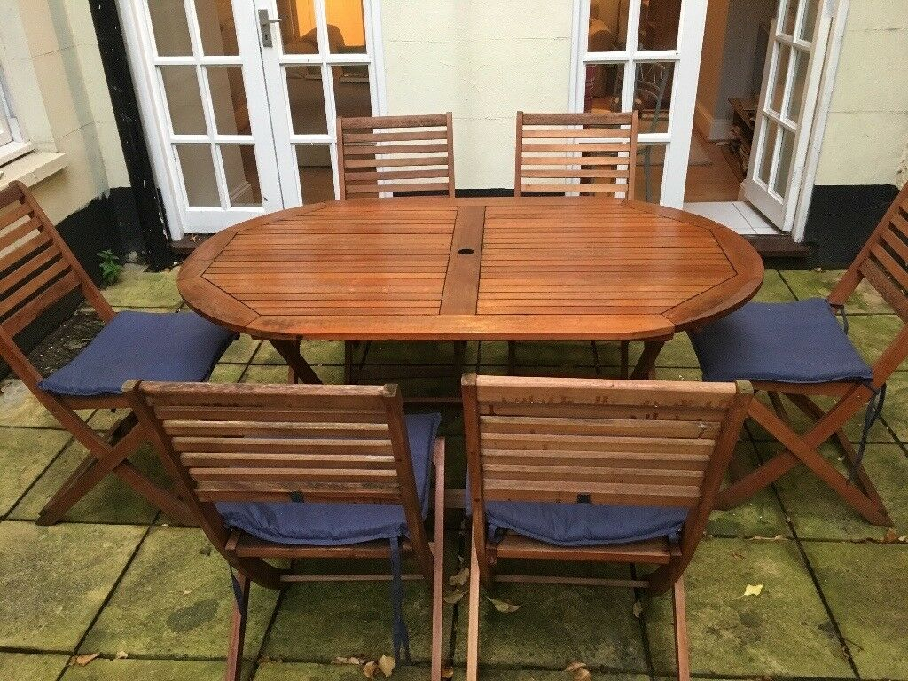 Argos Newbury 6 Seater Patio Dining Set With Cushions And Cover In Clifton Village Bristol Gumtree in dimensions 1024 X 768