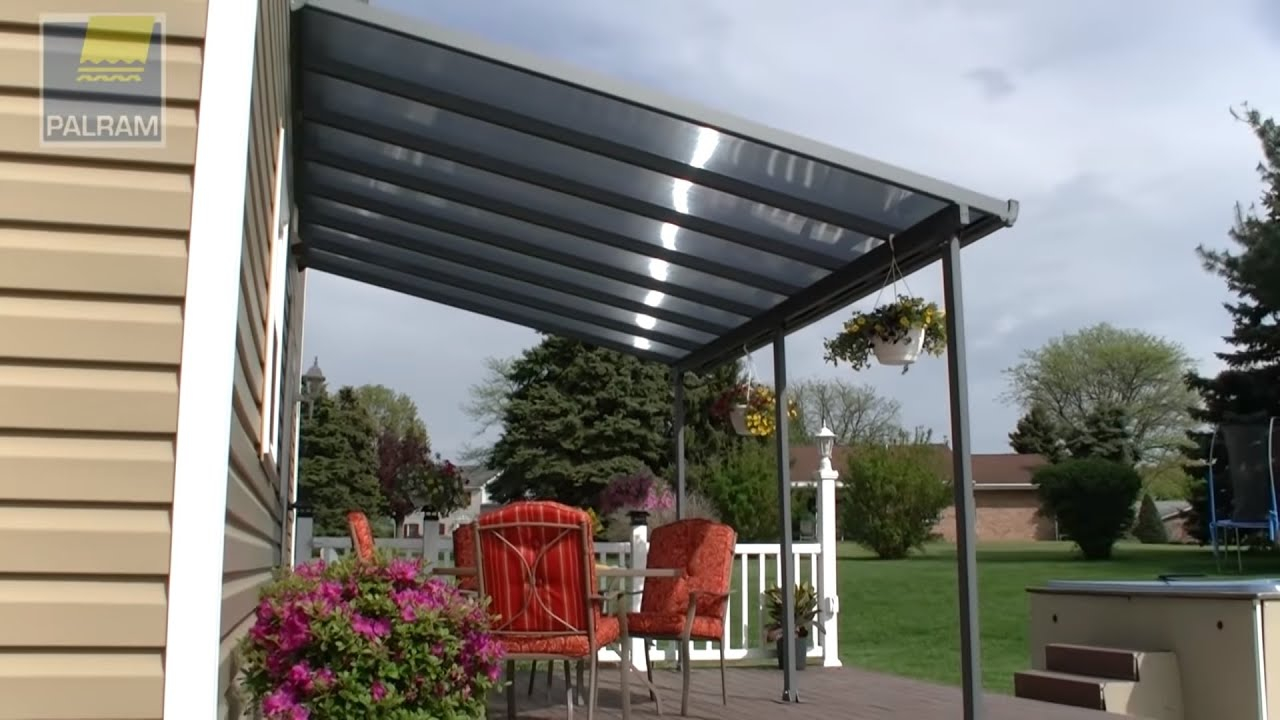 Awning Pergola Patio Cover Feria Palram Applications for dimensions 1280 X 720