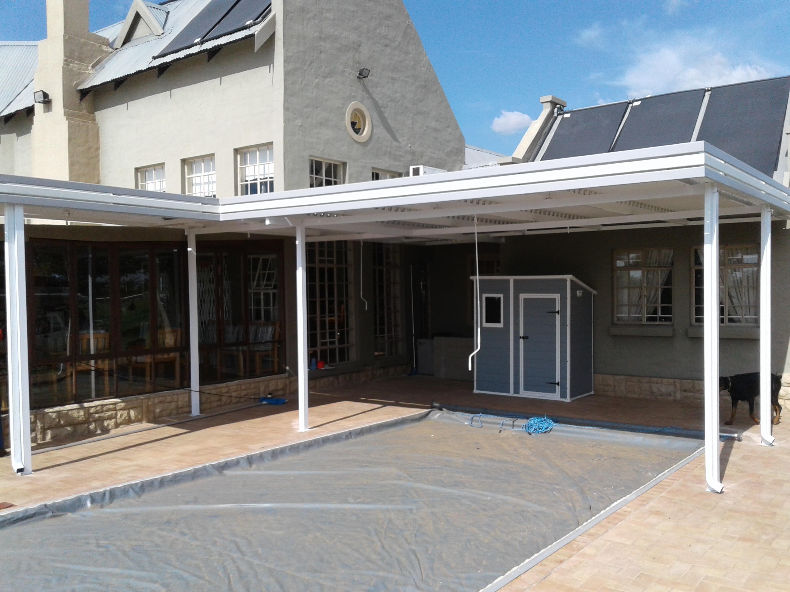 Awnings Johannesburg Canopy And Awning Specialists K4a intended for proportions 2576 X 1932