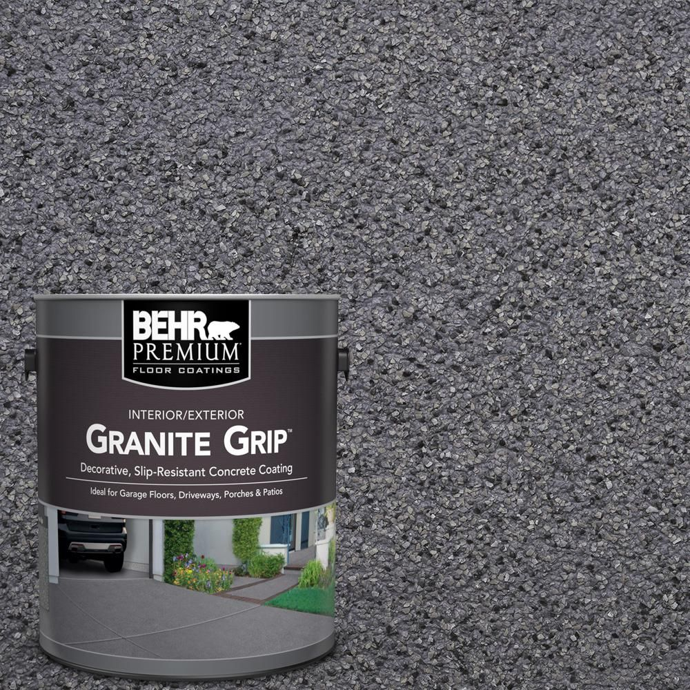 Behr Premium 1 Gal Gg 08 Galaxy Quartz Decorative Flat pertaining to proportions 1000 X 1000