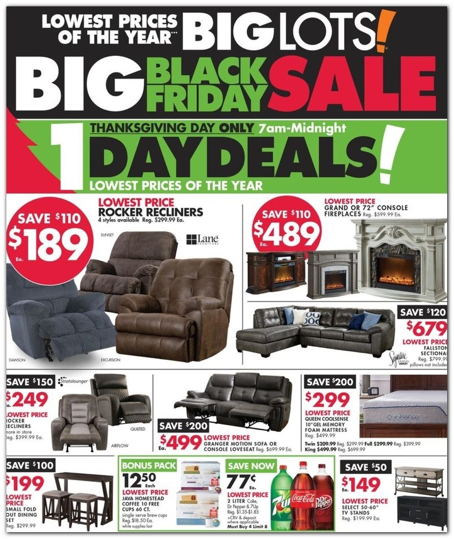Big Lots Black Friday 2020 Ad Deals And Sales with regard to measurements 927 X 1101