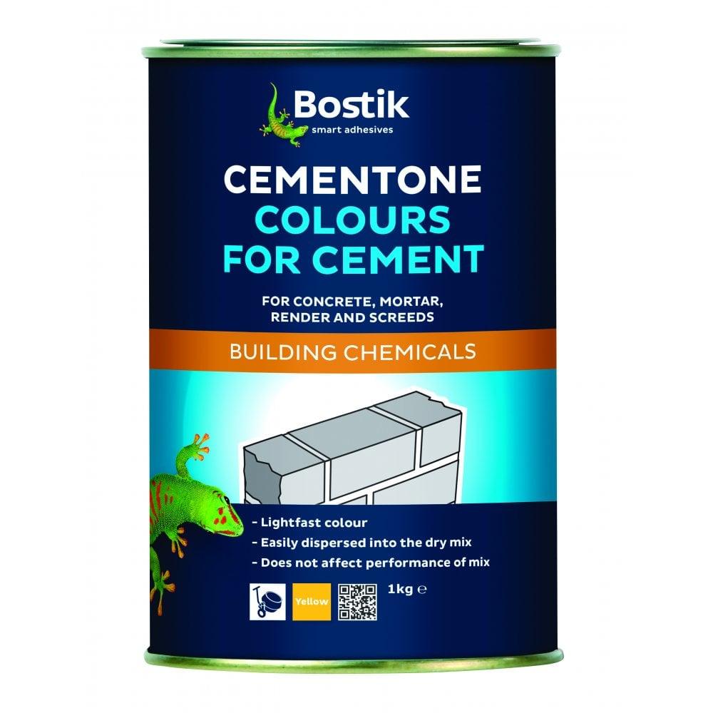 Bostik 1kg Cementone Mortar Dye Various Colours regarding dimensions 1000 X 1000