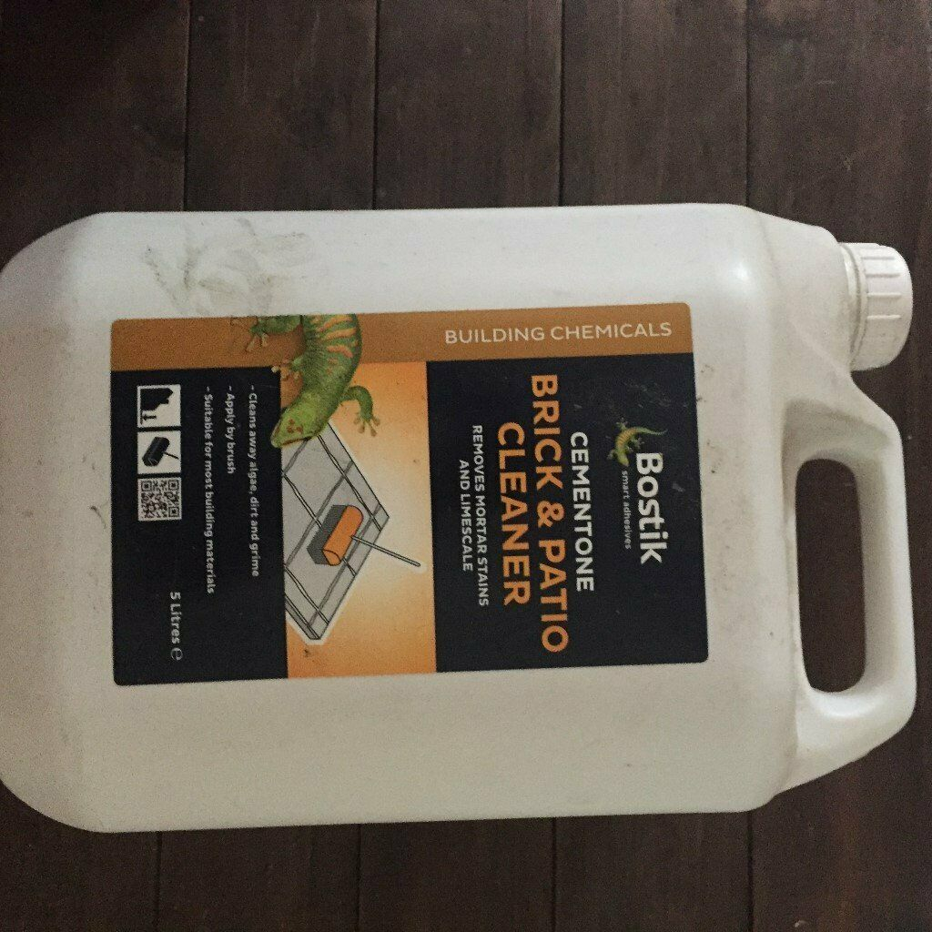 Bostik Cementone Brick And Patio Cleaner 5ltr In Fochabers Moray Gumtree inside proportions 1024 X 1024