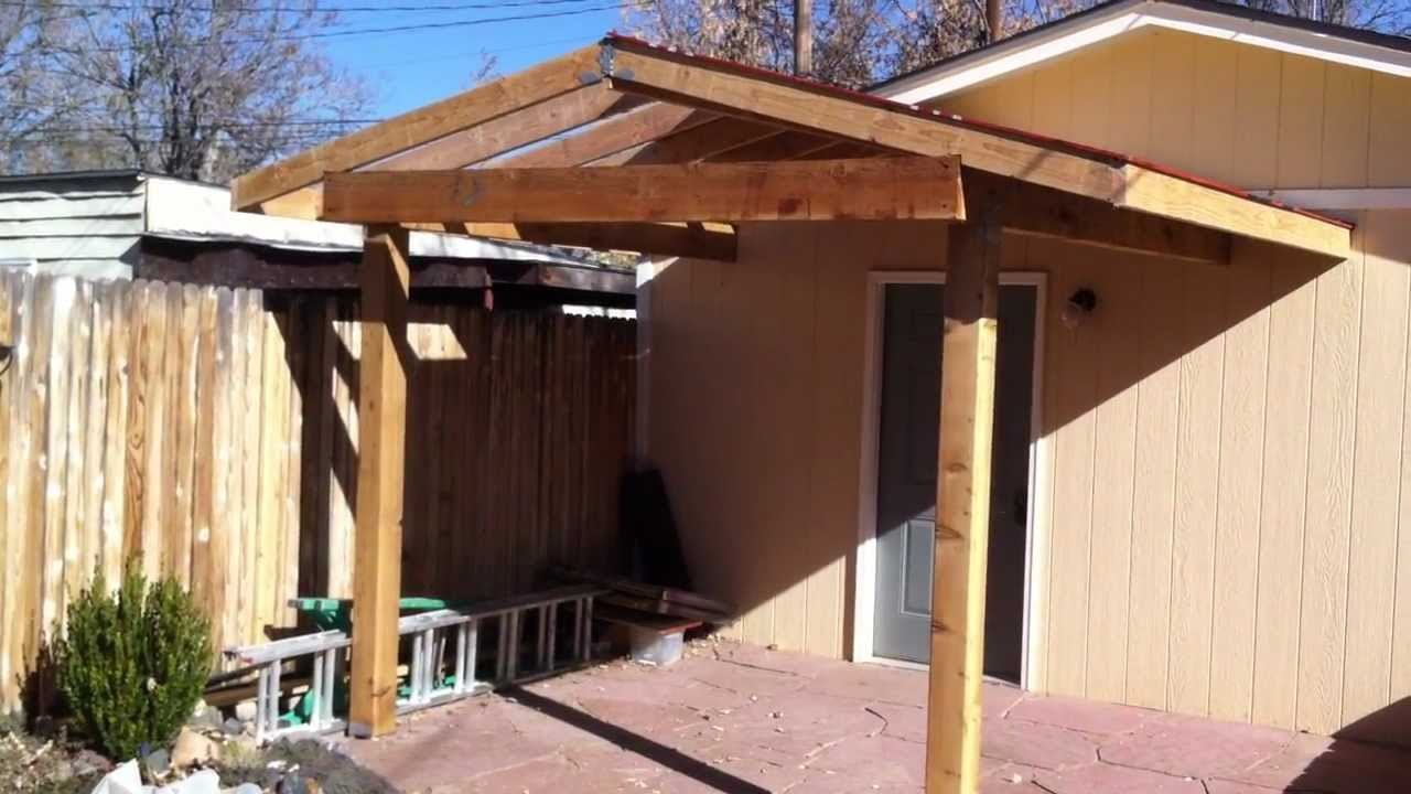 Building A Patio Cover Patio Cover Install Part 2 in size 1280 X 720
