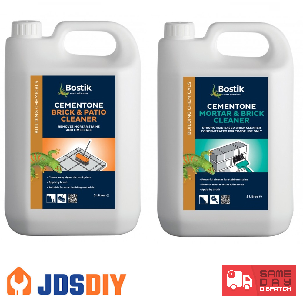 Cementone Mortar And Brick Cleaner Concentrated 5l with measurements 1000 X 1000