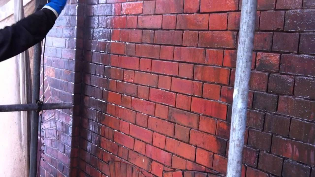 Chemical Brick Cleaning for proportions 1280 X 720