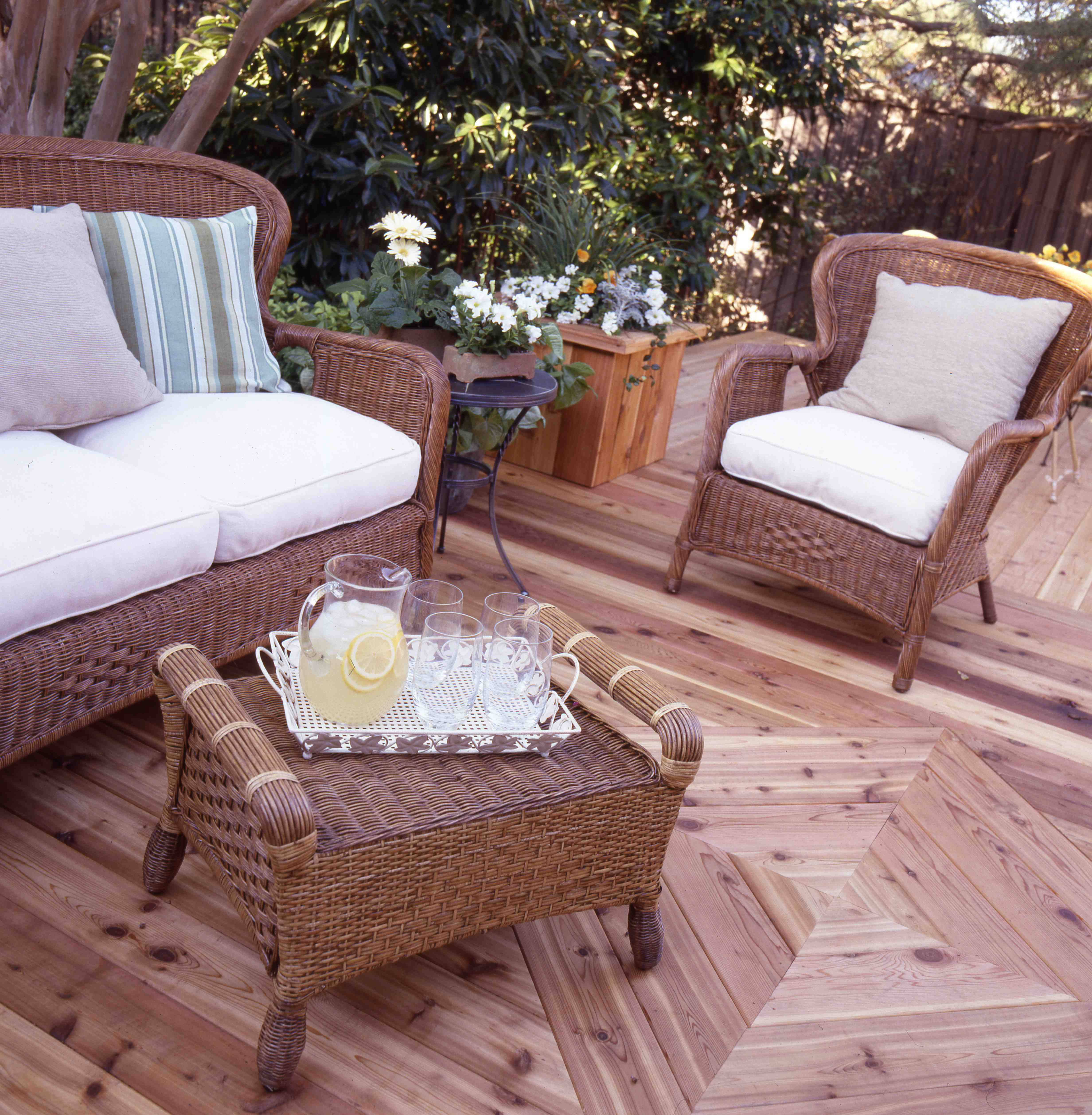 Closer Look At Our Natural Deck Get Clear Protection With in proportions 4928 X 5032