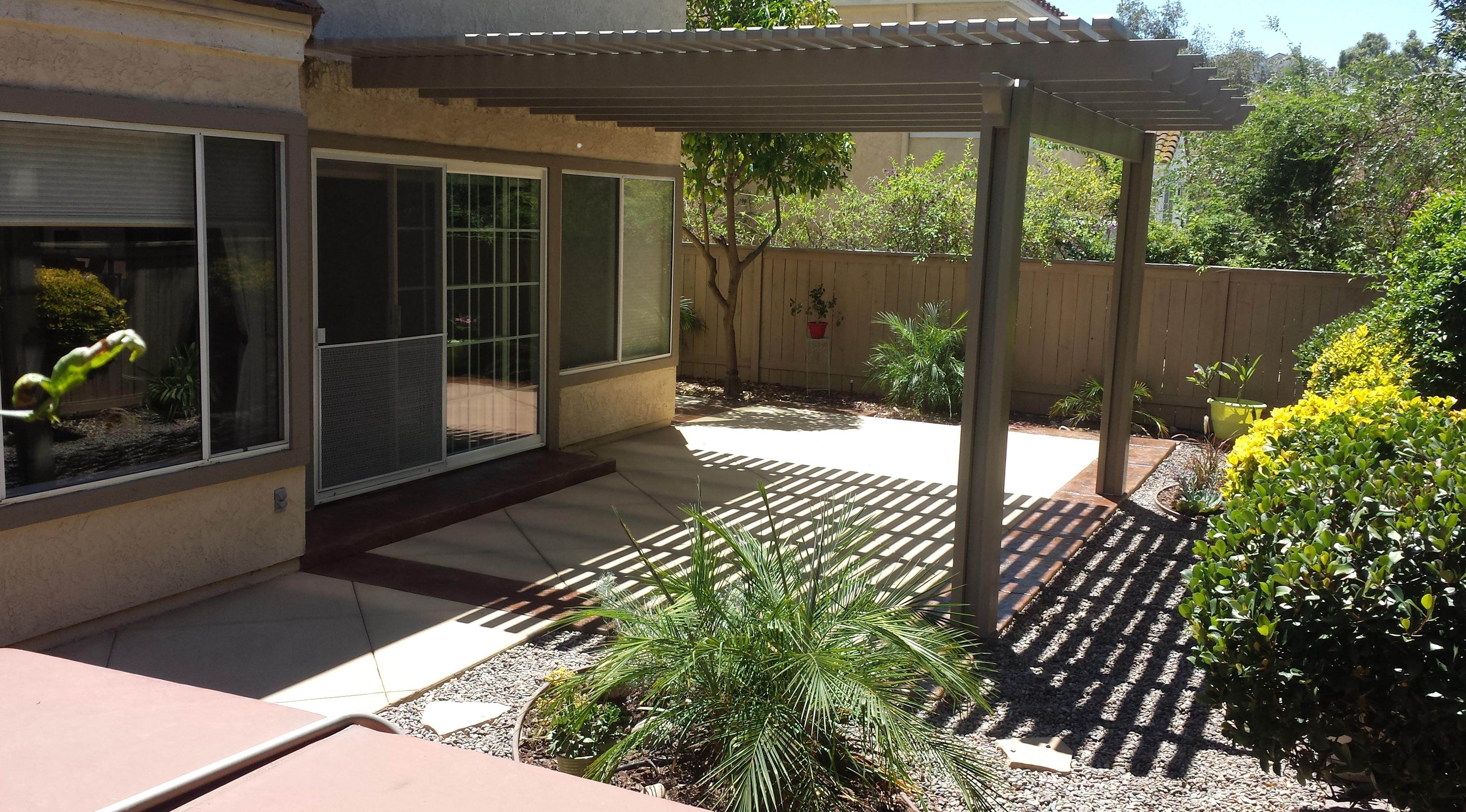 Concrete Patio Contractors San Diego Ca inside dimensions 4100 X 2272