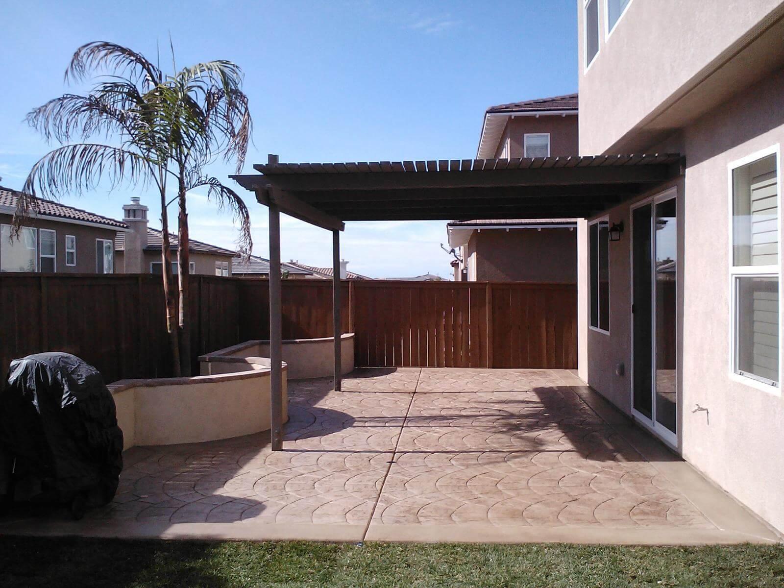 Concrete Patio Contractors San Diego Custom Concrete Pros with proportions 1600 X 1200