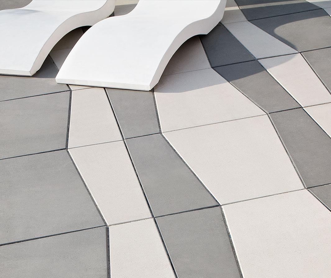Concrete Paving Slab Pedestrian Frost Resistant Drive inside measurements 1065 X 896