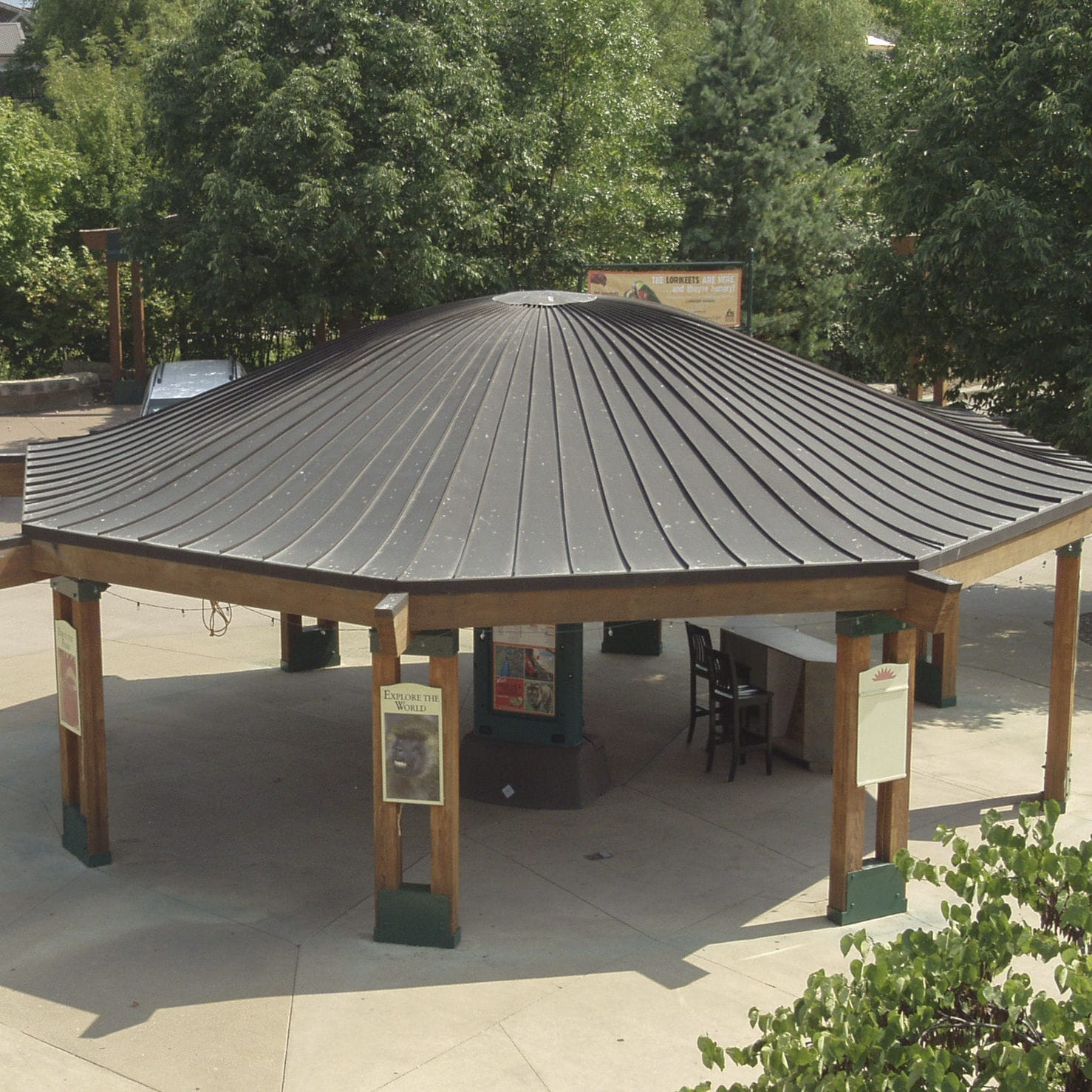 Copper Roofing Standing Seam Ribbed Kansas City Zoo with dimensions 1478 X 1478