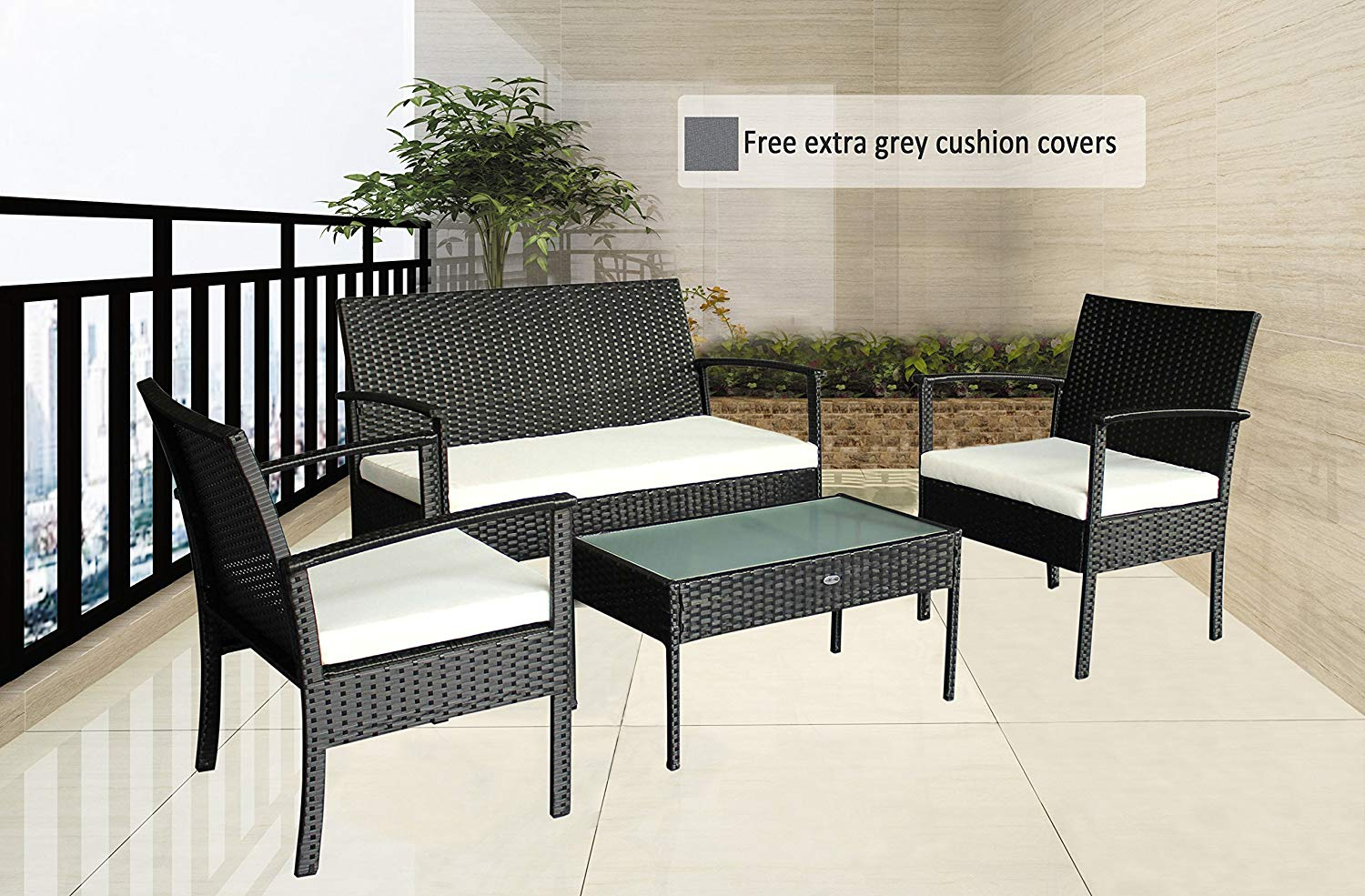 Cushions Covers Outstanding Hampton Sets Porch Argos Set for proportions 1500 X 985