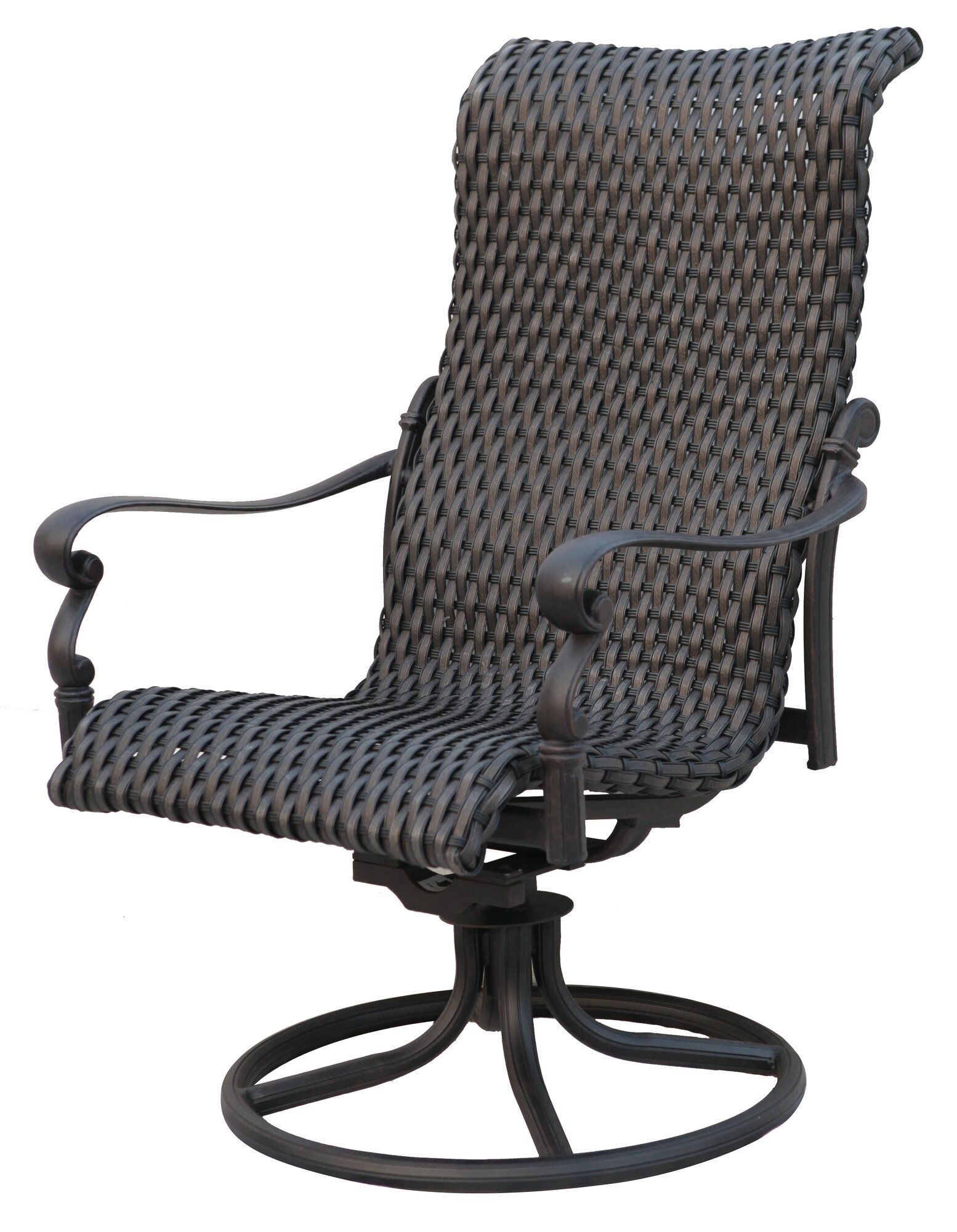 Details About Dar Home Co Kentland Swivel Patio Rocking Chair Set Of 4 regarding measurements 1554 X 2000