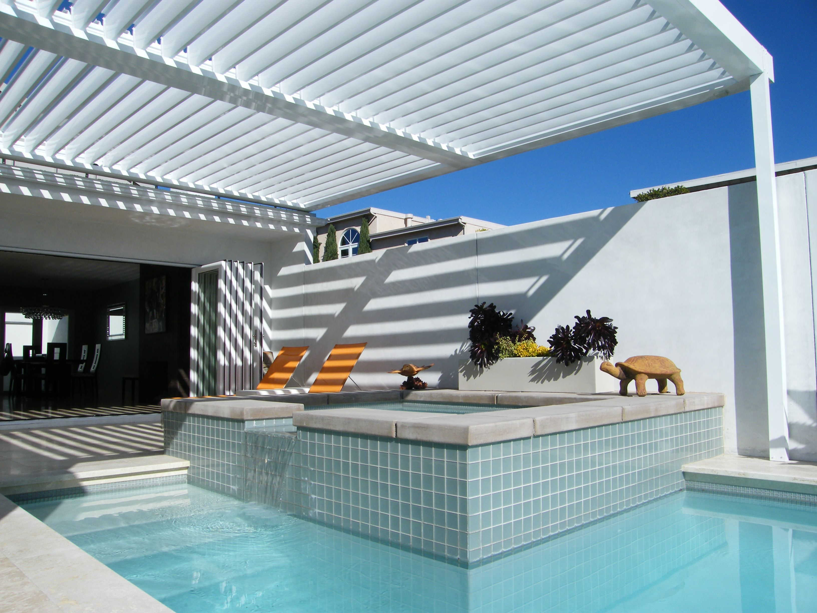 Equinox Louvered Roof System Patio Cover Alumawood Factory throughout proportions 3264 X 2448