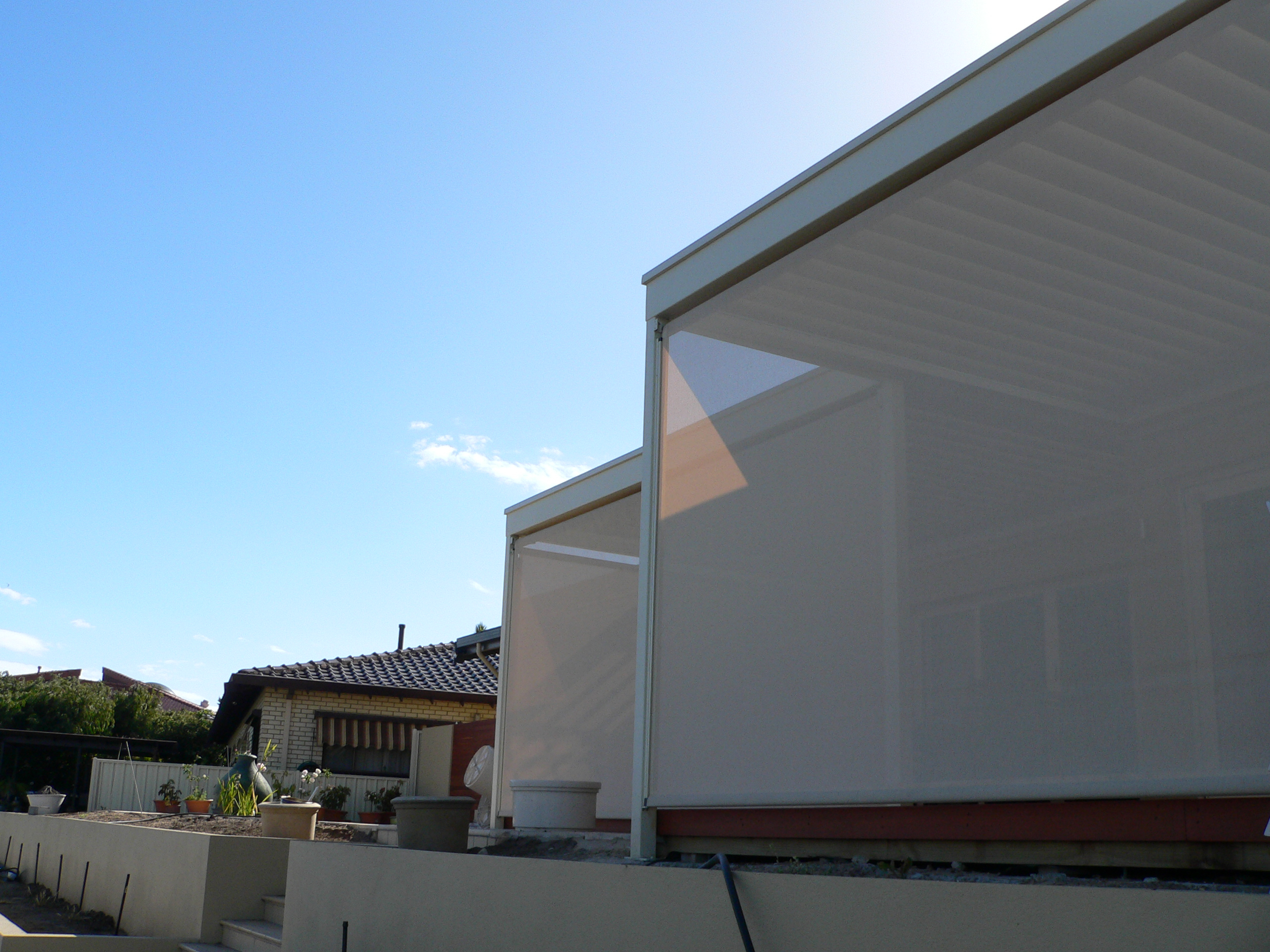 Ezip Patio Blinds Melbourne Diy Outdoor Blinds And Awnings inside measurements 2560 X 1920