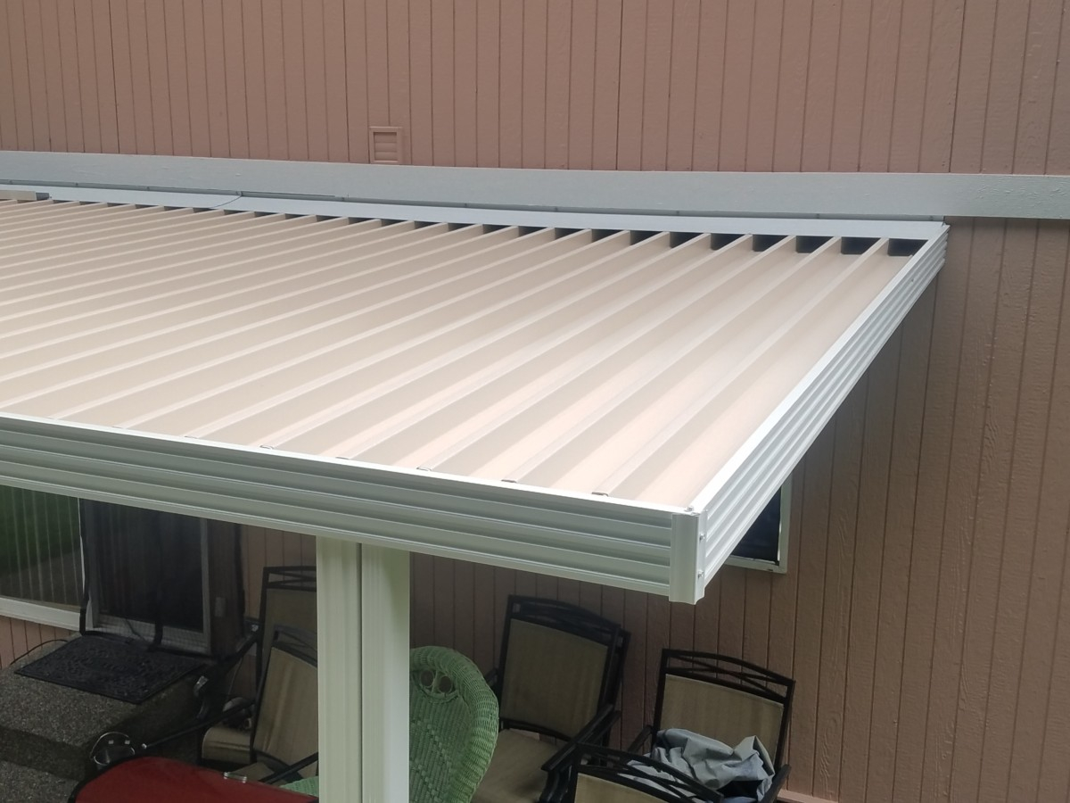 Flat Panel Patio Covers Installed In Puyallup Tacoma Enumclaw pertaining to dimensions 1200 X 900