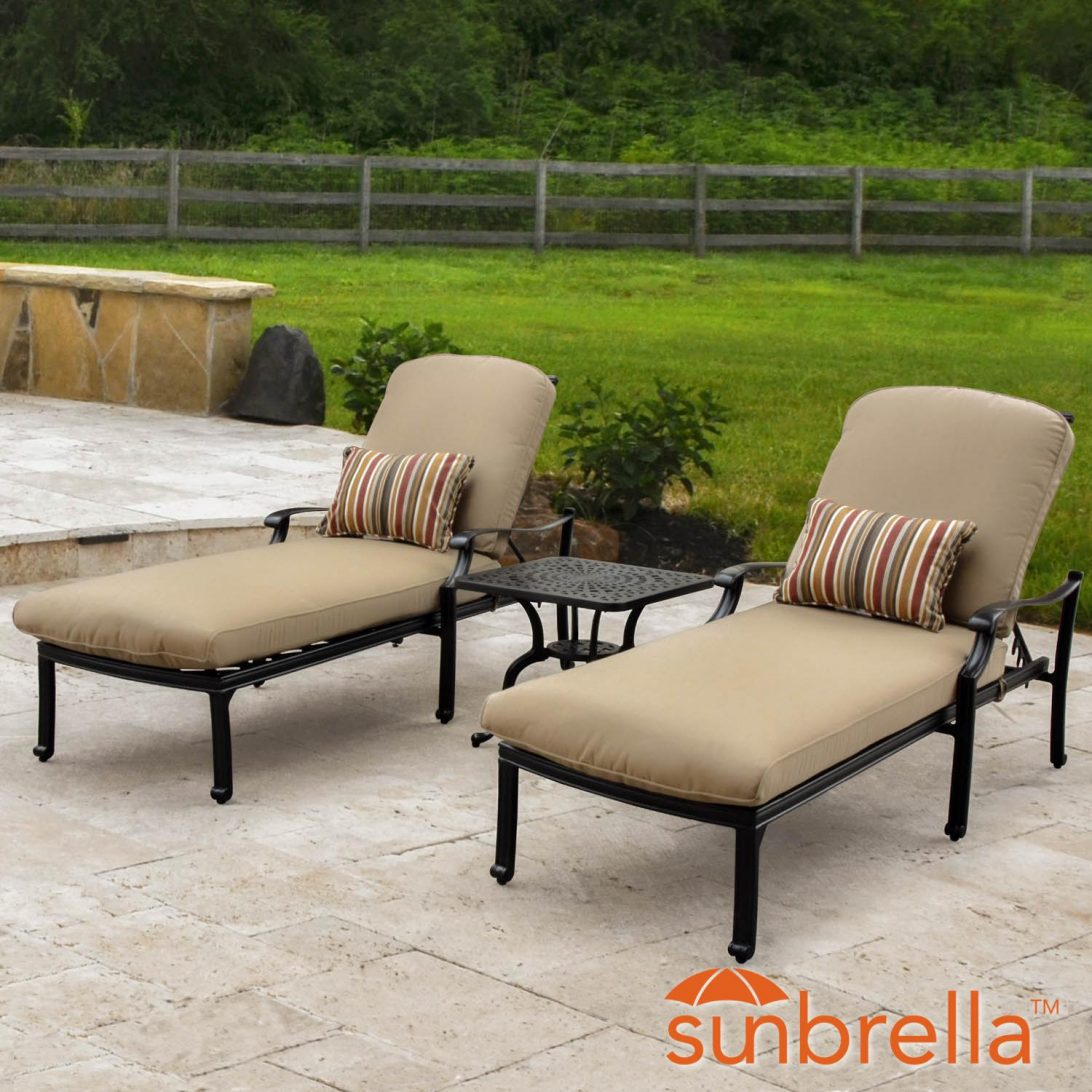 Furniture Bocage Piece Cast Aluminum Patio Chaise Lounge with dimensions 1092 X 1092