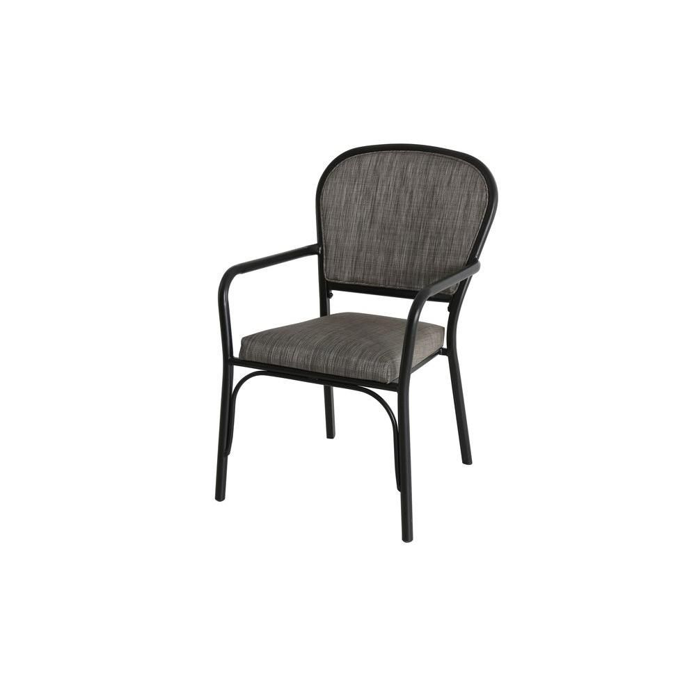 Hampton Bay Andrews Sling Stack Patio Arm Chair 2 Pack inside measurements 1000 X 1000