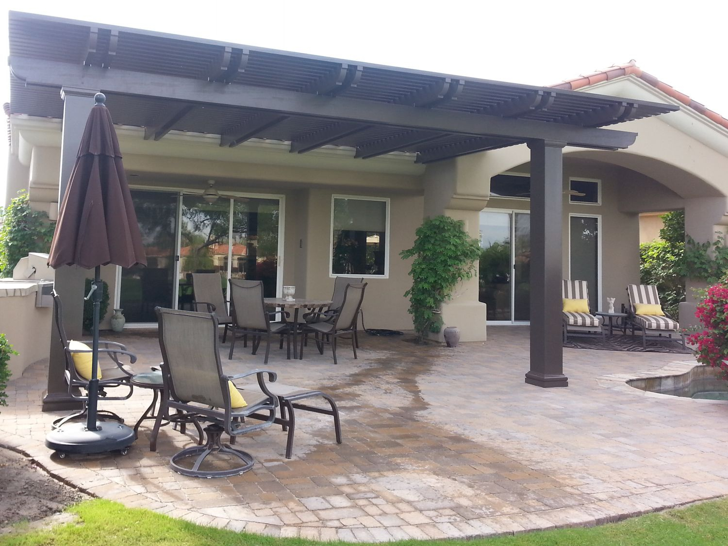 Just The Visible Section Is A Great Size For A Patio Cover for dimensions 1500 X 1125