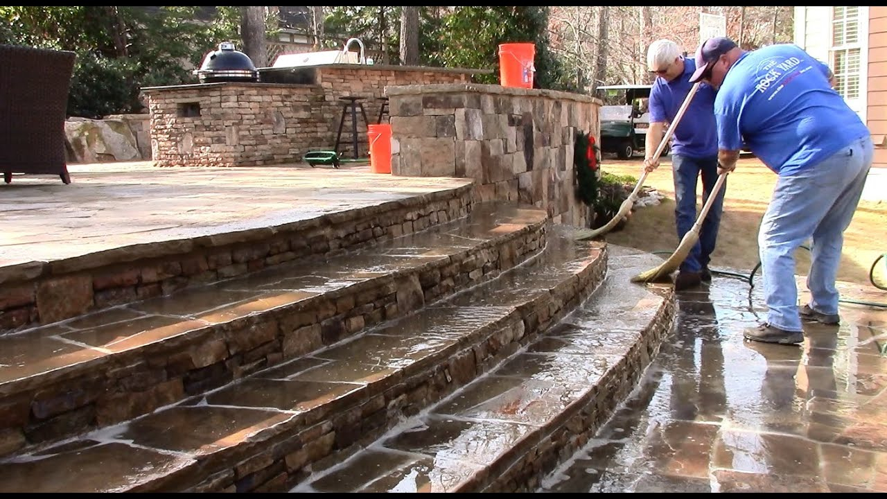 Muriatic Acid Patio Cleaning regarding measurements 1280 X 720