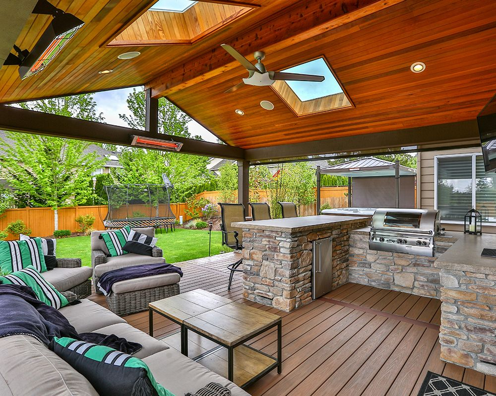 Wood Patio Covers Seattle • Fence Ideas Site on Patio Cover Ideas Wood id=71367