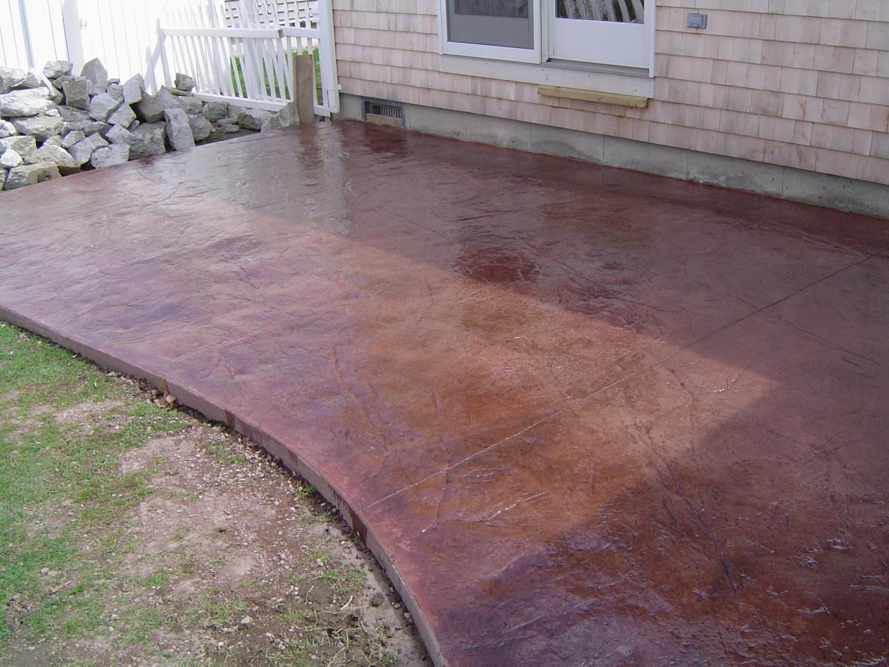 Paint Concrete Patio Designs Paint Concrete Patio Designs regarding size 1280 X 960