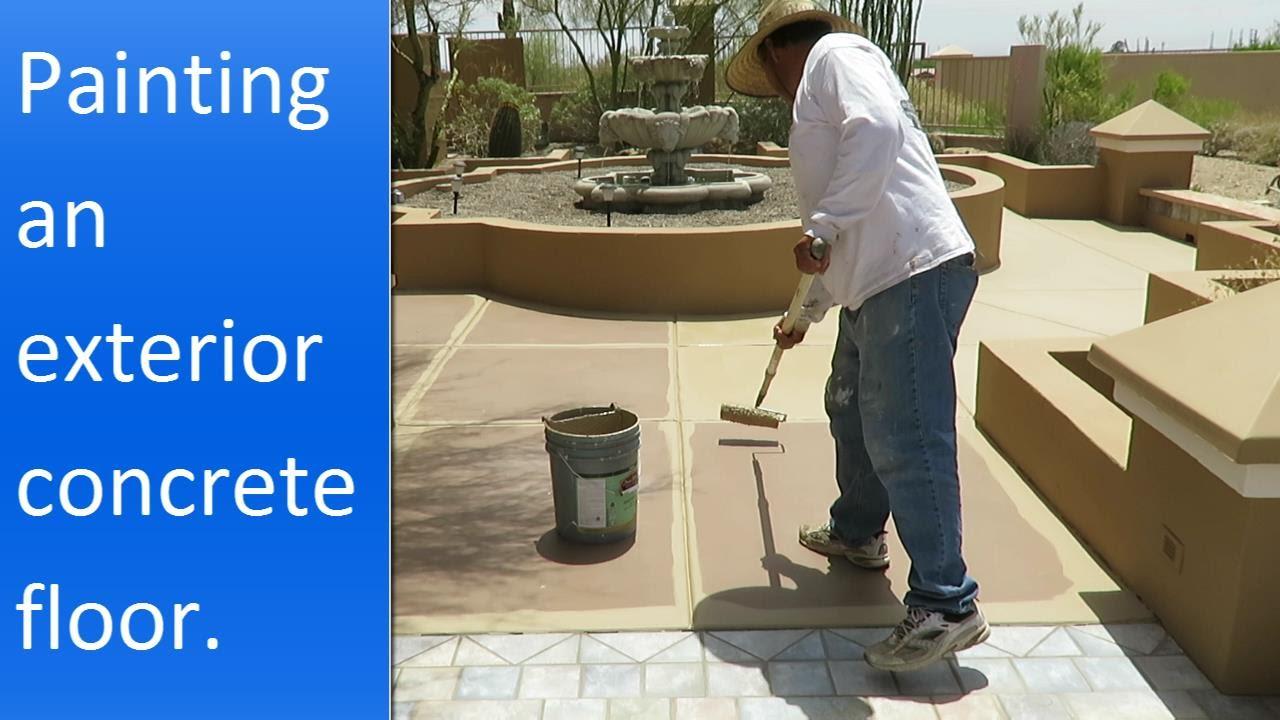 Painting Exterior Concrete Patio regarding sizing 1280 X 720
