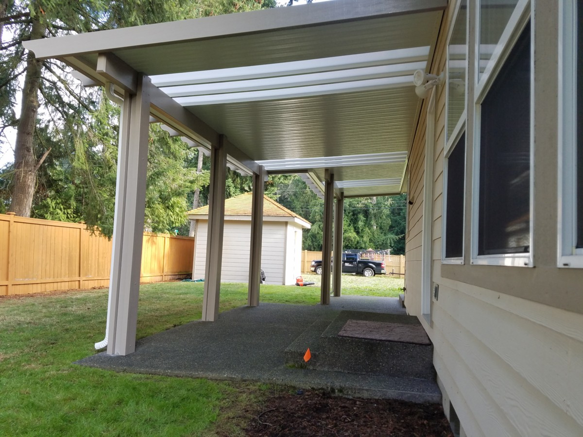 Patio Cover Carport Rv Cover Installation In Tacoma Puyallup for proportions 1200 X 900