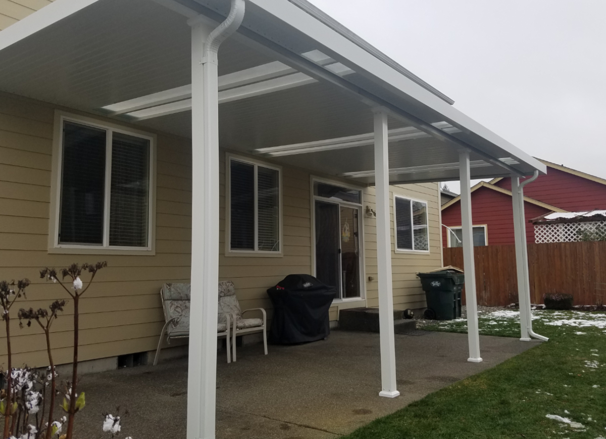 Patio Cover Carport Rv Cover Installation In Tacoma Puyallup intended for dimensions 1200 X 870