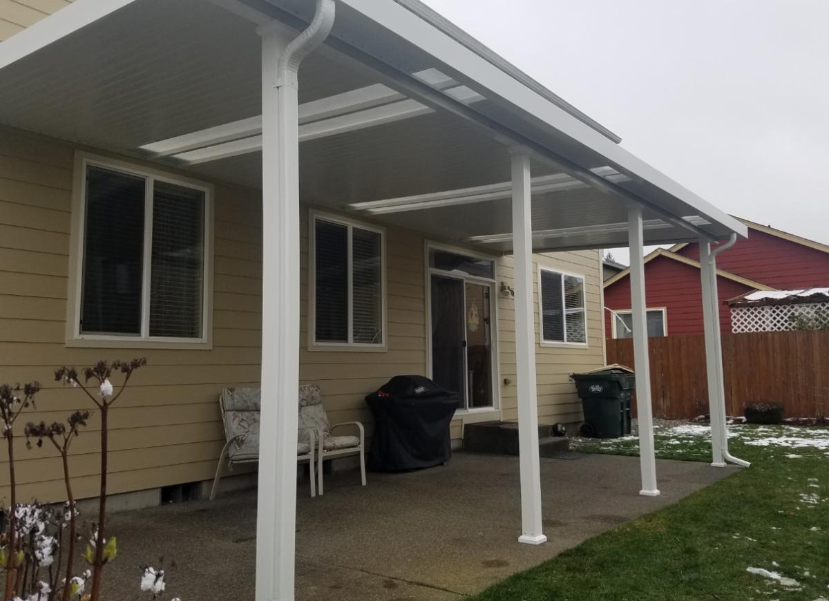 Patio Cover Carport Rv Cover Installation In Tacoma Puyallup regarding proportions 1200 X 870