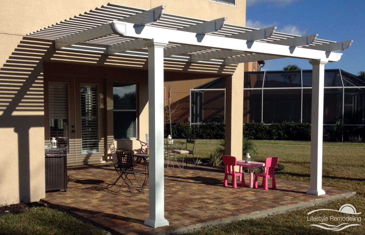 Pergolas Patio Covers Photo Gallery Lifestyle Remodeling within sizing 1272 X 822