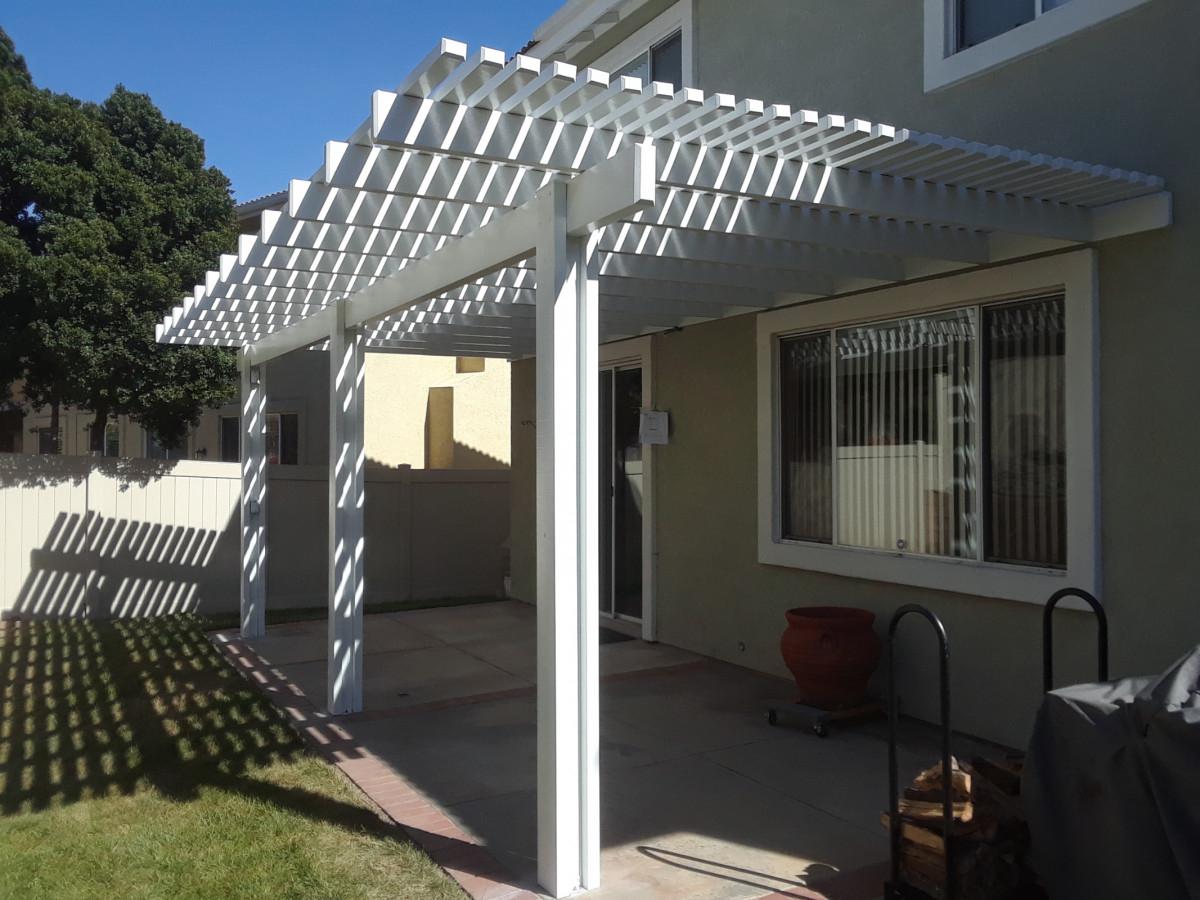 Photos Of Aluminum Patio Covers Seamless Rain Gutters regarding size 1200 X 900