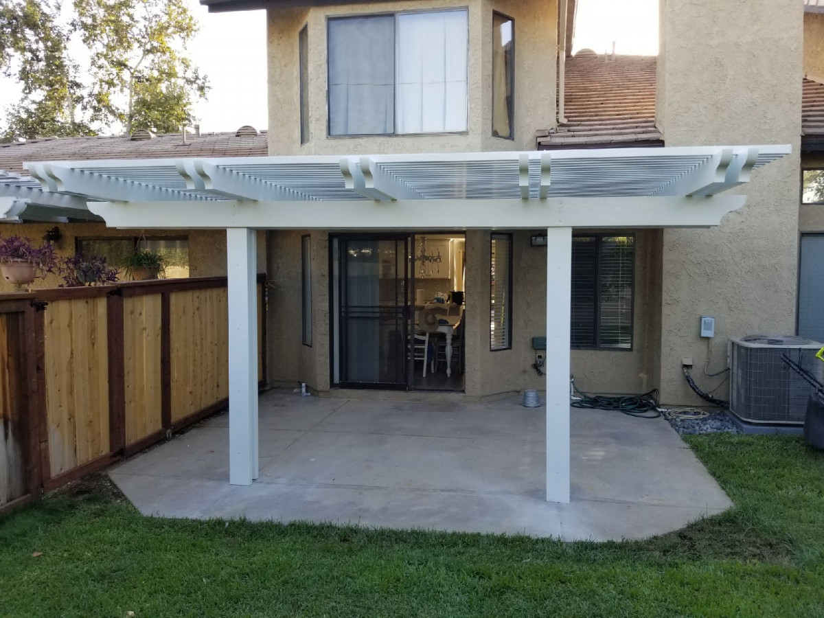 Photos Of Aluminum Patio Covers Seamless Rain Gutters within size 1200 X 900
