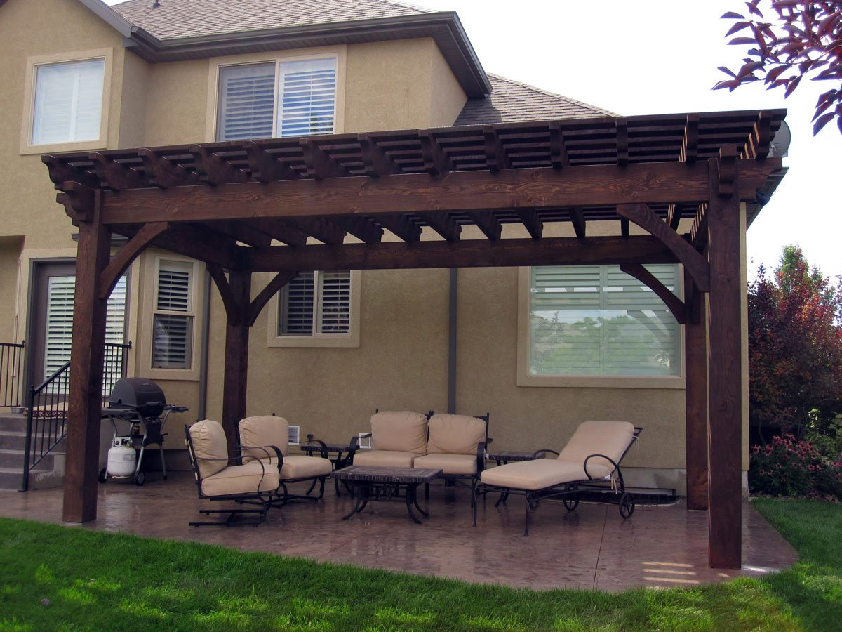 Planning For A 12 X 20 Timber Frame Over Sized Diy Pergola with size 1200 X 900