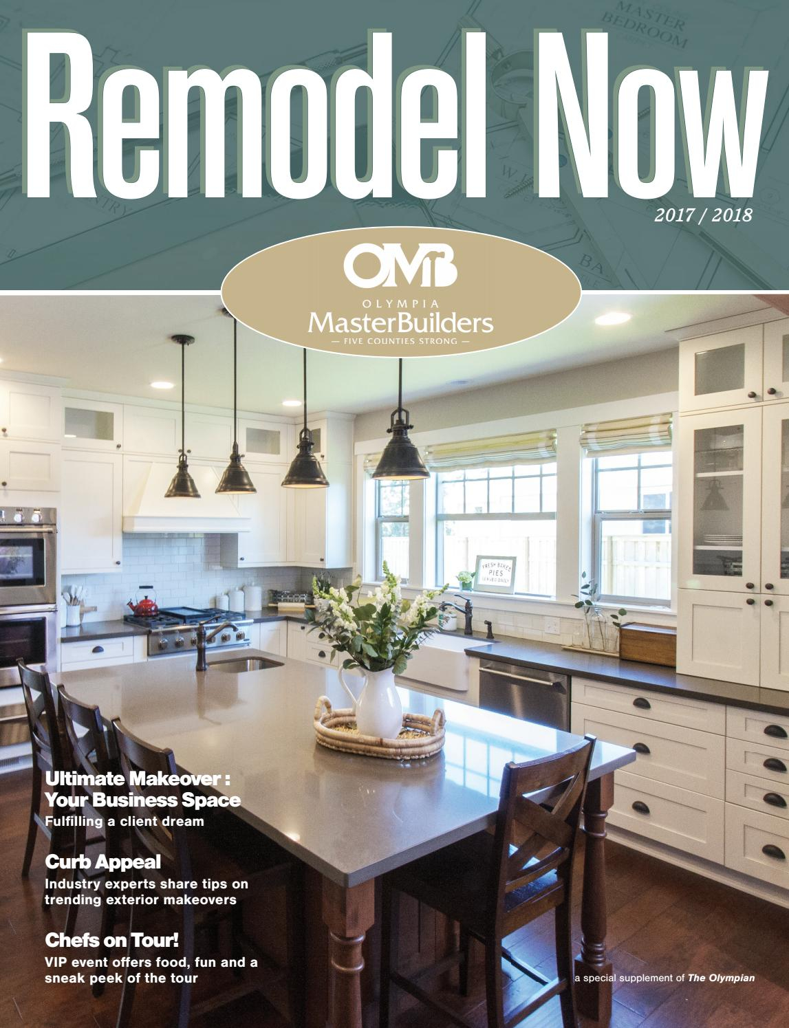 Remodel Now 2017 Olympia Master Builders Issuu intended for measurements 1147 X 1495
