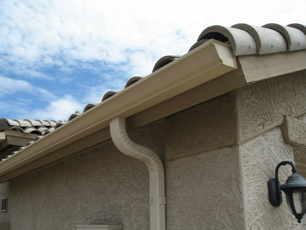 Seamless Rain Gutter Oasis Patio Cover for dimensions 1024 X 768